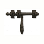COA- blackened Bronze Lockable Barrel Bolt
