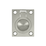 FRP175SN Flush pull in satin nickel finish Solid brass